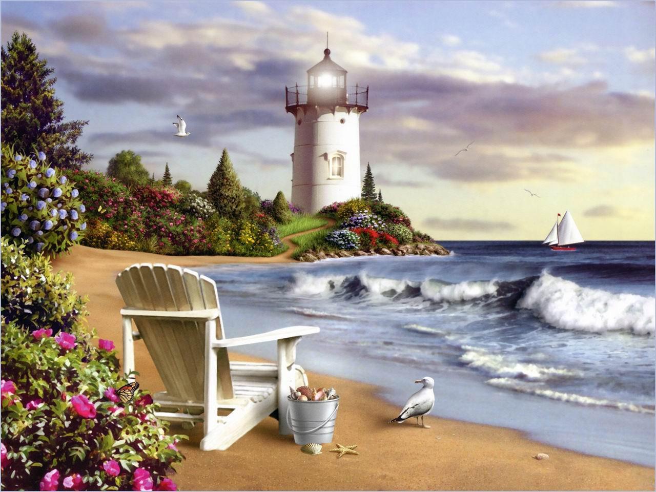 phong cảnh biển