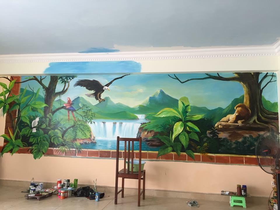 Vẽ tranh tường vũng tàu